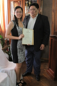 Award Ceremony for Scholarship for Changzou