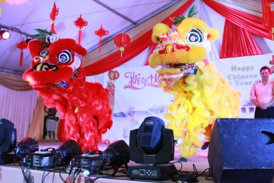 Cultural Programme  in connection with Spring Festival held on Saturday 4 February 2017 , Plaza yard