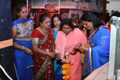 Divali Nite held on Sat 5 November 2016 at la Croisee Corps De Garde, Trefles,  Rose hill