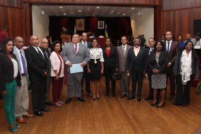 Election of Mayor and Deputy Mayor was held on Friday 28 June 2019  Salle des Fetes Plaza at 5 pm
