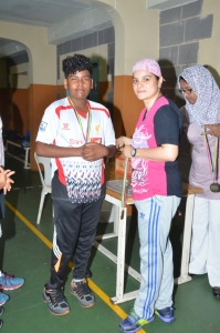 Festival Badminton Tournament held on Saturday 10 December 2016 at Quorum Gymnasium