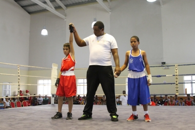 Gala de boxe Inter Quartier held on Sunday 24 April 2016 at Centre de Boxe