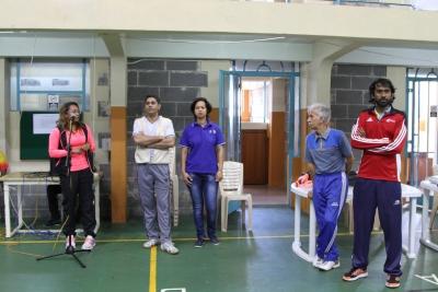 Initiation au badminton et lancement de  L'Ecole de Badminton au Gymnase de Quorum Samedi 6 Aout 2016