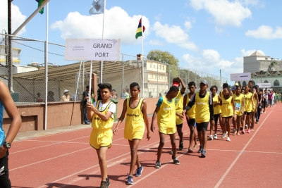 Inter Region Relays held on Sunday 19 Nov 2017 at Sir Gaetan Duval Stadium with the participation of athletes of Local Authorities