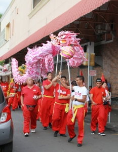 Lantern festival organised by the Council in collaboration with the China Cultural Center and Ping On Senior Citizen Association held on Saturday 27 Feb 2016 at Raymond Chasle Square