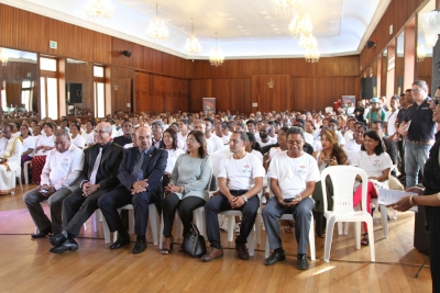 Launching of WIFI Mauritius Project held on Thurs 06 April 2017, Salle des Fetes , Plaza