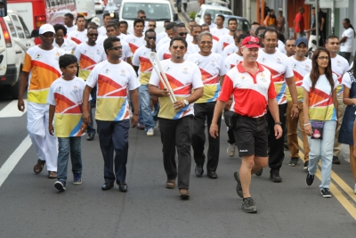 The Municipal Council BBRH in collaboration with the CEB has welcomed the Queen's Baton Relay and parade within the Township on Monday 17 April 2017 as from 1 pm